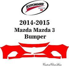3M Scotchgard Paint Protection Film Clear Bra Pre-Cut Kit 2014 2015 Mazda Mazda3