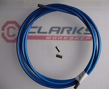 CLARKS - BLUE BRAKE OUTER CABLE - 2 METRES  plus 4 end ferrules