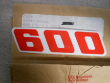 Vintage NOS KTM OEM Right Side Radiator Shroud 600 Decal Graphic LC4 54507103600