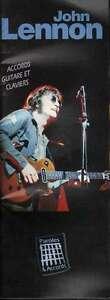John Lennon Spartito Paroles Et Accords Nuovo 5020679112663