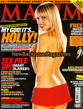 UK Maxim 10/04,Holly Willoughby,October 2004,NEW