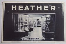 1950'S Photo Postcard Heather Sterling Silver Londres 114 Mexico City Mexico