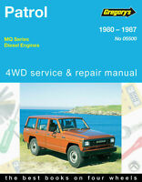 Nissan Patrol 1980-1987 Gregory's Workshop Service Repair Manual