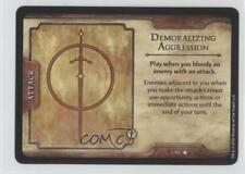 2012 Dungeons & Dragons - Fortune Card #3 Demoralizing Aggression Gaming 1i3