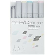 Copic Markers 6-Piece Sketch Set, Blending Basics