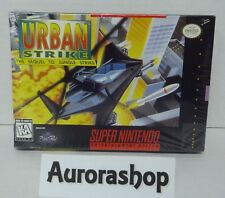 SNES Super Nintendo Spiel Urban Strike / US-Version / neu+ovp in Folie