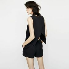 CLUB MONACO LYNDSEY OPEN BACK ROMPER PLAYSUIT UK 6