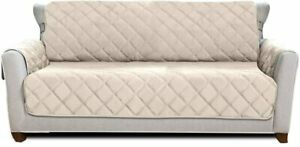 Mighty Monkey Premium Reversible Large Sofa Protector for Seat Width up to 70 In