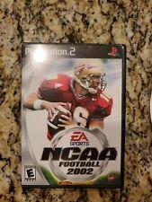 EA SPORTS NCAA FOOTBALL 2002 - PS2 - COMPLETE W/MANUAL