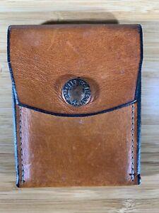 Filson Workshop - Unique vintage Leather snap wallet with back credit card slot
