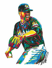 Jose Fernandez, Miami Marlins, Pitcher, Baseball, All-Star, Sports 8.5x11 PRINT