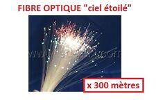 Rouleau 300 mètres fibre optique ciel étoilé 0,75mm