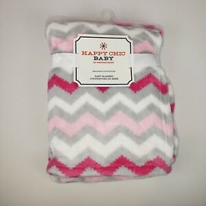 Jonathan Adler: Heather Collection by Happy Chic -Pink/Grey Chevron