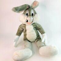 "Vintage Warner Bros Looney Tunes Bugs Bunny Large PJ Case 30"" Plush Toy"