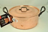Baumalu Assorted Copper Cookware Pots And Pans Alsace