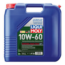 LIQUI MOLY Synthoil Race Tech GT1 Full Synthetic Engine Oil 10W-60 20L