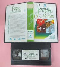 VHS film SERENATA DELLA NATURA Le quattro stagioni di vivaldi 1991 (F161) no dvd
