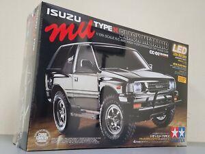 "Tamiya 1/10 Isuzu MU Type X ""Black Metallic"" CC-01 Chassis 4WD Kit w/ ESC & LED"