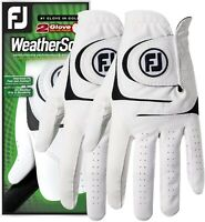 FootJoy WeatherSof 2-Pack Golf Gloves *NEW*- Value Pack - Select Size