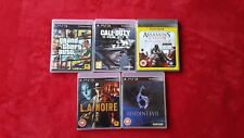 5 Playstation 3 Games (Sony PS3)  -  inc  GTA, call of duty assassins creed