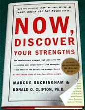 MARCUS BUCKINGHAM & DONALD O. CLIFTON, Now, Discover Your Strengths, HB/DJ