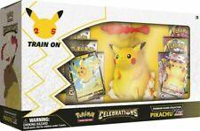 Figura Pikachu VMAX Premium Colección Pokemon celebraciones Trading Card Game Nuevo Sellado 10/22