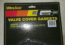 Mr Gasket 5870 Ultra Seal Valve Cover Gaskets SB Ford 289 302 351W set