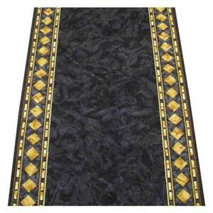 Hallway Runner Carpet Rug Charcoal 67cm Rubber Backed Cheops Per Metre Floor New