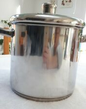 NEW Masterclass Induction Safe Stainless Steel Stock Pot With Lid 11 Litres