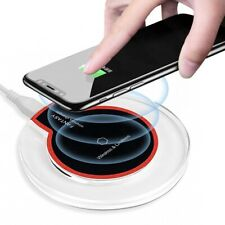 New Qi Wireless Fast Charger Dock Charging Pad Receiver For iPhone and Android