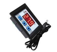 DC 12V LED Digital Temperature Controller Thermostat Control Switch Probe Black