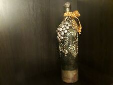 "Decorative bottle""Grapes of Isabella"",handmade,decoupage,Pape-art."