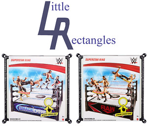 WWE Rings - Brand New - Sealed - SHIPPING COMBINES -  Choose the one you want
