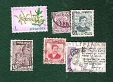 Individual Asian Stamps