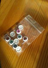 Acrilic eyes 12 mm for dolls 5 pairs set