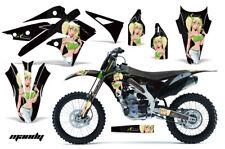 Dirt Bike Decal Graphic Kit Wrap For Kawasaki KX250 KX 250 2013-2016 MANDY G K