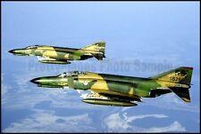 USAFE F-4 Phantom 512th 526th Ramstein 1985 8x12 Photo