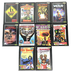 Lot of 10 TROMA DVDs Toxic Avenger, Combat Shock, Rabid Grannies, The Chosen One