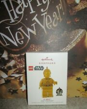 Hallmark Keepsake Ornament NEW Disney Star Wars LEGO C-3PO Droid 20 Year