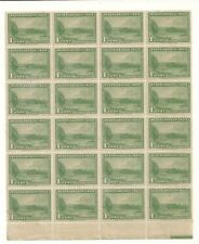 RARE VINTAGE 1945 DUTCH NETHERLANDS INDIES INDONESIA  1 cent Stamps sheet