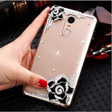 Handmade Bling Clear Crystal Diamond Soft TPU back thin Phone Case Cover Skin 15