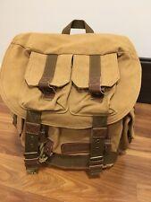 Koolertron Canvas DSLR Camera Bag Padded Insert Case Travel Backpack