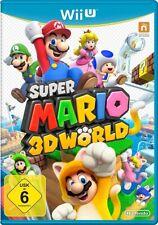 Super Mario 3D World (Nintendo Wii U, 2013, DVD-Box)