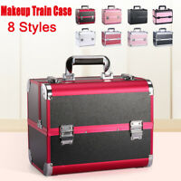 Extra Large Vanity Case Beauty Box Make up Jewelry Cosmetic Nail Storage Boxes