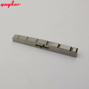 GUYKER Titanium alloy Slotted Guitar Nut 43*3.5MM For ST Guitar