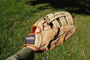 Mike Schmidt Signature Baseball Glove # 4179 Franklin Leather Left Hand Thrower
