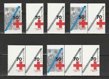 Nederland Stockkaart Zegels en Combinaties uit Postzegelboekjes 29 Postfris