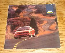 Original 1992 Isuzu Impulse Deluxe Sales Brochure 92