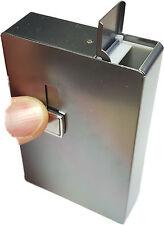 Silver Metal Cigarette Holder Case - Tobacco Smoking Gift #10-033