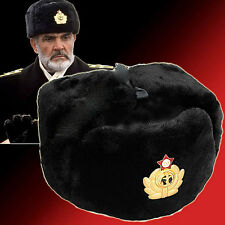 Russian NAVY Soviet Cossack Trapper Fur Ushanka Winter genuin wool size 60-61 XL